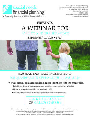 SNFP - Flyer - Webinar for Grandparents Digital