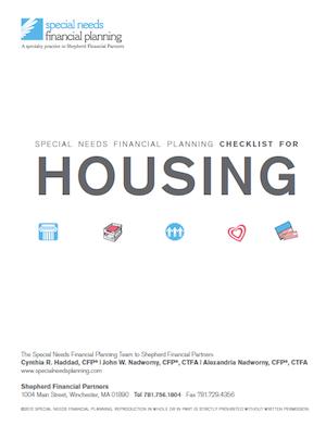 SNFP Housing checklist_2018