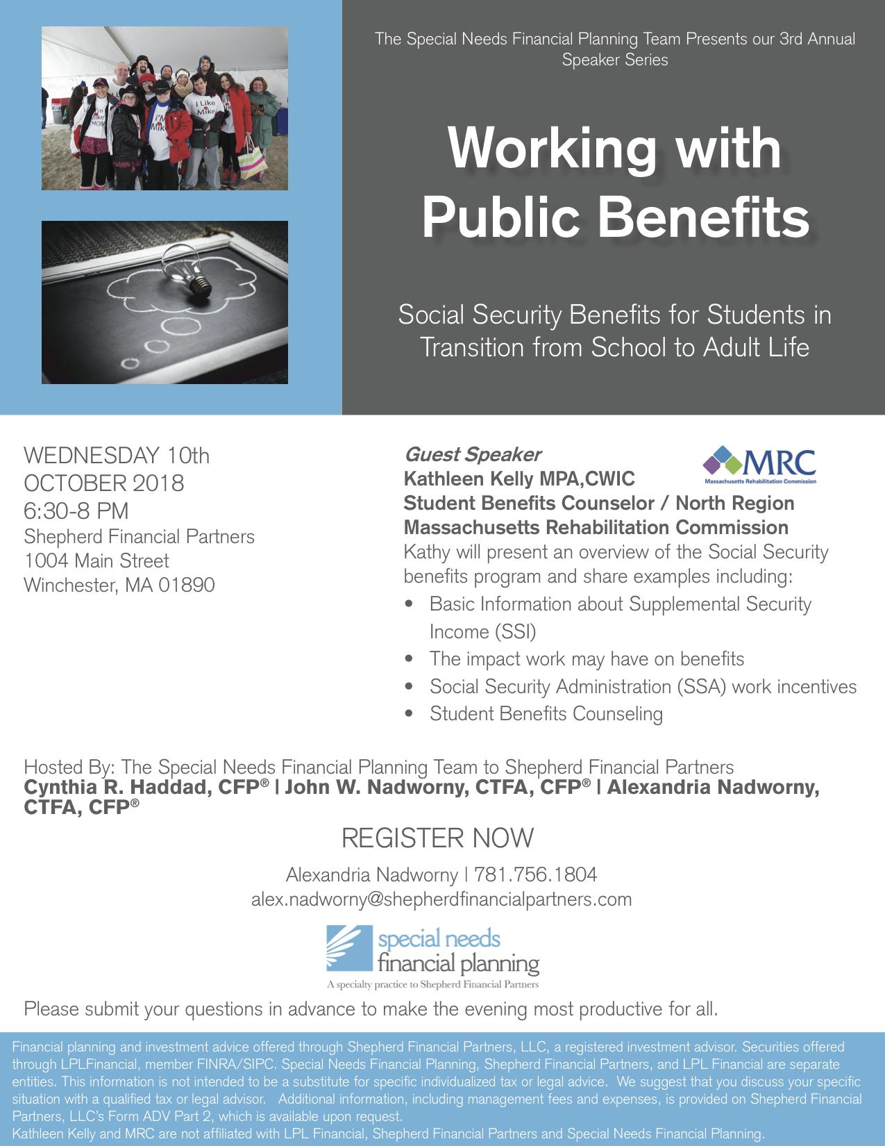 SSI Benefits Program Flyer (3)