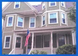 Ron's home in Arlington, MA