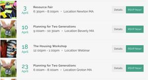 Workshops Calendar