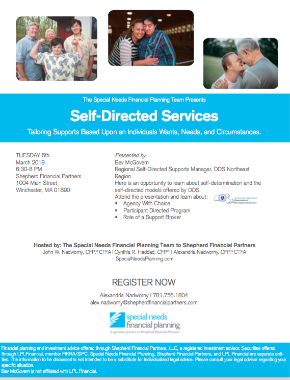 self directed services presentation